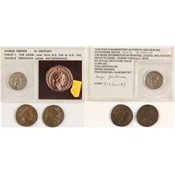 Roman Coins  60553