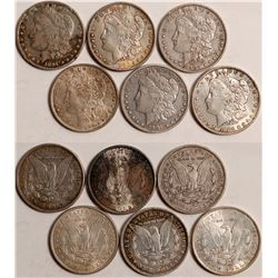 Turn of the Century Morgan Dollars  108834
