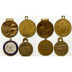 Plumbers Union Medals  108577