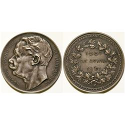 Grand Duke Adolphe Silver Birthday Medal  108619