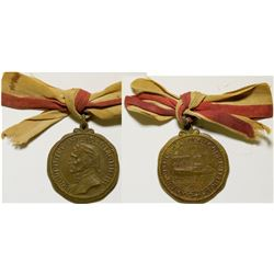 Dante Alighieri Warship Bronze Medal  108620