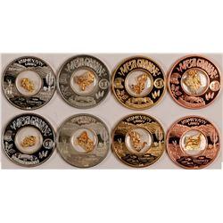 Mesa Grande Gold Leaf Medals  108128