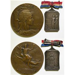 Paris Exposition Medals  108812