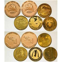 Six Medals  87303