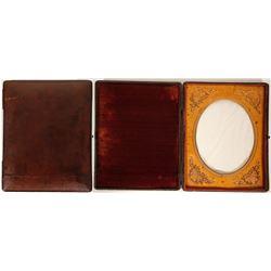 Half Plate Daguerreotype Case  100015