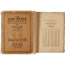 James Ten Eyck Auction Catalog by Max Mehl  85548