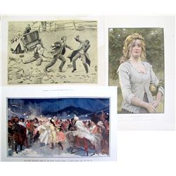 3 Early 20th Century Prints  85165