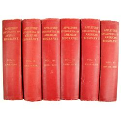 Appleton's Cyclopedia of American Biography Vols. 1-6  63138