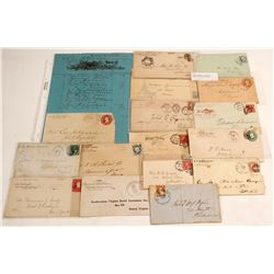 Lettersheet, Pictorial and Corner Advertising Postal History  60962