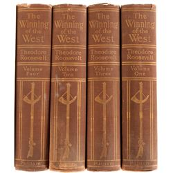 The Winning of the West by T. Roosevelt (4 Vols)  109557