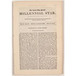 Three Issues of the Millennial Star,  81415