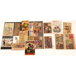 Tradecard Collection (Black American, 21 pieces)  105721