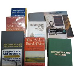 Western US Explorers and Settler Books (11)  86435