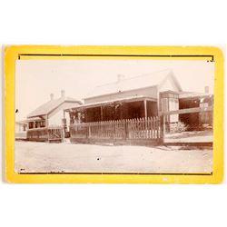 CDV of Hartman House, Prescott, AZ  89943