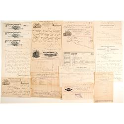 Southern California Letterheads and Billheads  65060