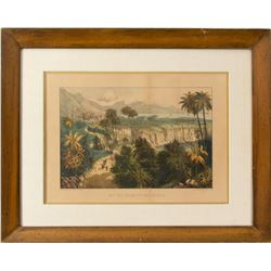Original Currier and Ives California Color Print  59370