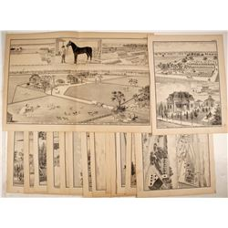 W. T. Galloway Lithographs  82456