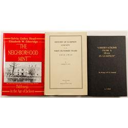 Lumpkin County Georgia History Books (3)  58629