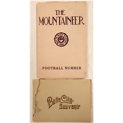 Two Butte Booklets: Butte City Souvenir and 1880 'The Mountaineer'  105834