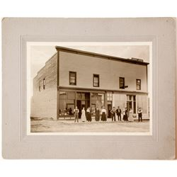 Photo of Butte Courier Newspaper Office  57524
