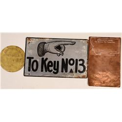 Three Montana Copper and Metal Items  105851