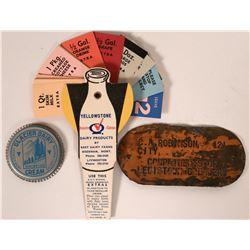 Three Montana Dairy Products: Bozeman, Livingston, Kalispell  105843
