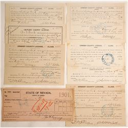 Bullion & Exchange Bank Archive (Carson City, Nevada)  60133