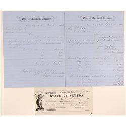 Three Early (two Territorial) Warrant Related Papers  105767
