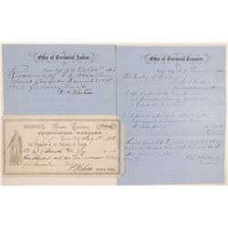 Three Territorial Official Documents  105769