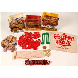 Rare Nevada Club Gaming and Branded Items  59745