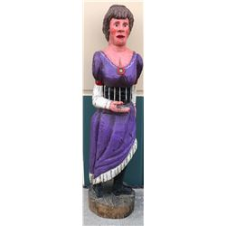 Wood Carved Statue  85808