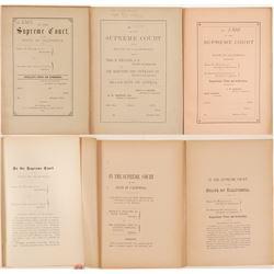 Fire  Lawsuit Booklets / 3 Items.  109669