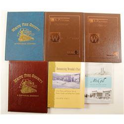 White Pine, NV History Books (6)  86440