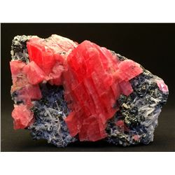 Rhodochrosite and Tetrahedrite, Quartz from Sweet Home Mine, Colorado  53066