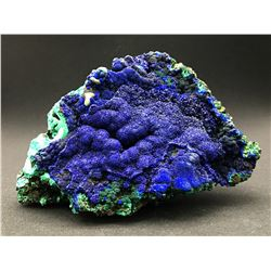 Azurite and Malachite from Liufengshan Mine, China  53042