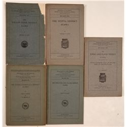 Geological Reports / U.S.G.S. / 5 Items.  109681