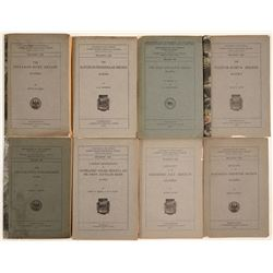 Geological Reports / U.S.G.S. / 8 Items.  109679