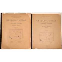 Geologic Atlas of the U.S., Bisbee Folio, Arizona (2)  109500