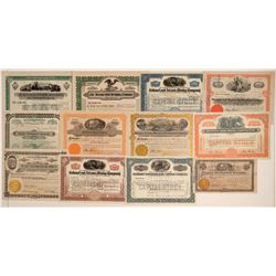 Nice Bisbee Mining Stock Certificate Collection  106746