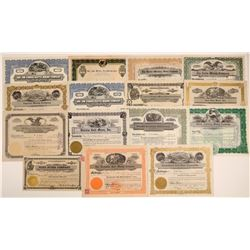 15 Mohave County Mining Stock Certificates  106726