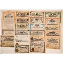 Pinal County, Arizona Mining Stock Certificate Collection (20)  106927