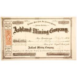 Ashland Mining Company Stock  77008