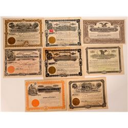 Miscellaneous Arizona Gold Mining Stock Certificates  107478