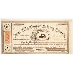 Ione City Copper Mining Company Stock  90479