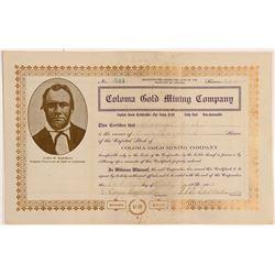 Coloma Gold MC Stock  108094