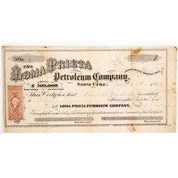 Loma Prieta Petroleum Company Stock  90456