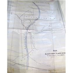 Black Hawk Placer Mine Map  61258