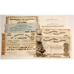 California Gold Rush Stock Collection (7)  79962