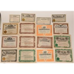 California Mining Stock Certificate Collection  107608