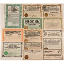 California Mining Stock Collection: 1905-1909  105889